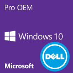 Windows 10 Pro OEM (Dell matricás)